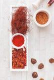 Ассортимент горячих перцев стоковая фотография
