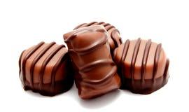 Ассортимент изолированных помадок конфет шоколада Стоковое Изображение