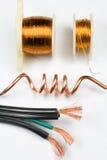 Ассортимент медного провода Стоковые Фото