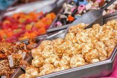 Ассортимент различных конфет Стоковые Фотографии RF