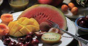 Ассортимент свежих, здоровых, органических плодоовощей Стоковые Фото