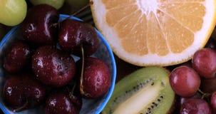 Ассортимент свежих, здоровых, органических плодоовощей Стоковое Изображение RF