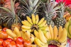 Ассортимент свежих органических плодоовощей Стоковые Изображения