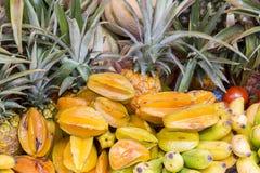 Ассортимент свежих органических плодоовощей Стоковое фото RF