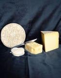 Ассортимент сыра горы Стоковая Фотография