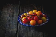 Ассортимент томатов вишни Стоковые Фотографии RF