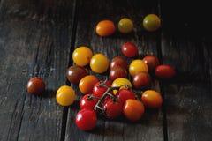 Ассортимент томатов вишни Стоковые Изображения RF