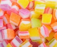Ассортимент цветастой конфеты студня плодоовощ Стоковое фото RF