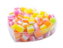 Ассортимент цветастой конфеты студня плодоовощ Стоковые Фото