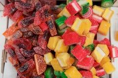 Ассортимент цветастой конфеты студня плодоовощ Стоковое Изображение
