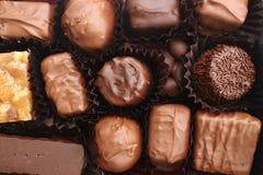Ассортимент шоколадов Стоковое фото RF