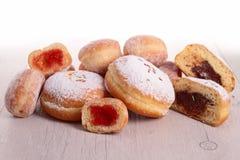 Ассортимент donuts стоковое фото