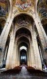 Асти Италия, интерьер собора Стоковое Фото