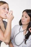 астма Стоковое Фото