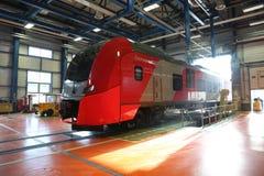 ласточка поезда Стоковое Изображение