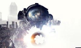 Астронавт в выдуманном мире Мультимедиа бесплатная иллюстрация