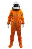 Астронавт изолированный на белой предпосылке. Стоковое фото RF