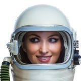 Астронавт красоты Стоковое фото RF