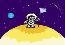 астронавт смешной Стоковое фото RF