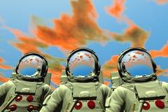 астронавт иллюстрация штока