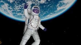 астронавт Стоковая Фотография