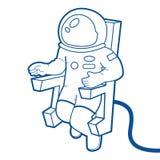 астронавт бесплатная иллюстрация