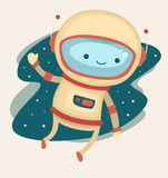 астронавт иллюстрация вектора