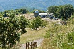 Астрономическая обсерватория в San Marcello, Пистойя, Италии стоковые изображения rf