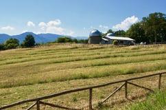 Астрономическая обсерватория в San Marcello, Пистойя, Италии стоковое фото rf