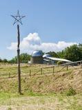 Астрономическая обсерватория в San Marcello, Пистойя, Италии стоковая фотография