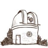 Астрономическая обсерватория Стоковые Фотографии RF