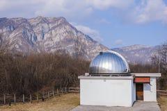 астрономическая обсерватория Стоковое Фото