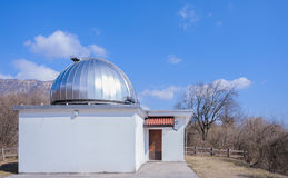 астрономическая обсерватория Стоковые Изображения