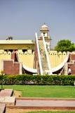 Астрономическая обсерватория Jantar Mantar, Индия Стоковое Фото