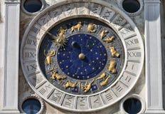 Астрономические часы, Венеция стоковое изображение rf