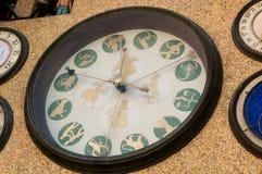 Астрономические часы города s Olomouc - деталь Стоковые Изображения RF