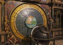 астрономические часы известные Стоковое фото RF