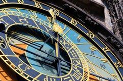 Астрономические часы Прага Стоковые Фото