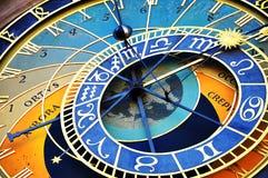 Астрономические часы Праги в старом городке Праги Стоковое Фото