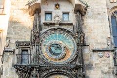 Астрономические часы Праги на Праге, чехии стоковое фото