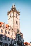 Астрономические часы Праги на Праге, чехии стоковые фотографии rf