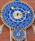 астрономические часы Стоковые Изображения