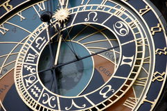 астрономические часы Стоковое фото RF
