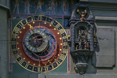 Астрономические часы, Bern Стоковое Изображение