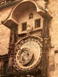 астрономические часы prague Стоковая Фотография RF