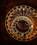 астрономические часы prague Стоковое Изображение RF
