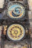 астрономические часы prague Стоковые Фотографии RF