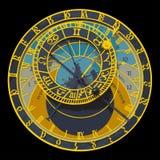 астрономические часы prague иллюстрация штока