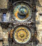 астрономические часы prague Стоковое фото RF