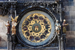астрономические часы prague Стоковое Фото